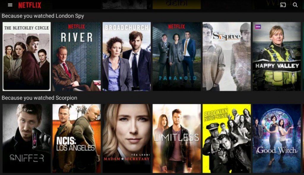 Netflix Personalisation by Web Development Company in Mumbai