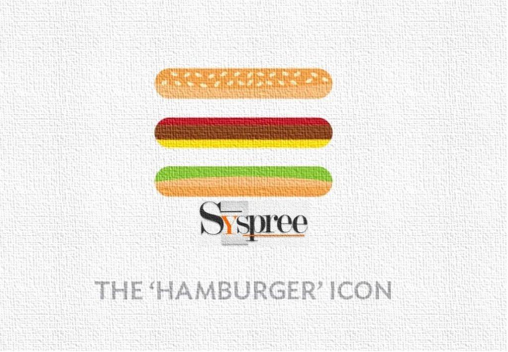 Hamburger Menu in Websites blog by Web Design Company in Mumbai