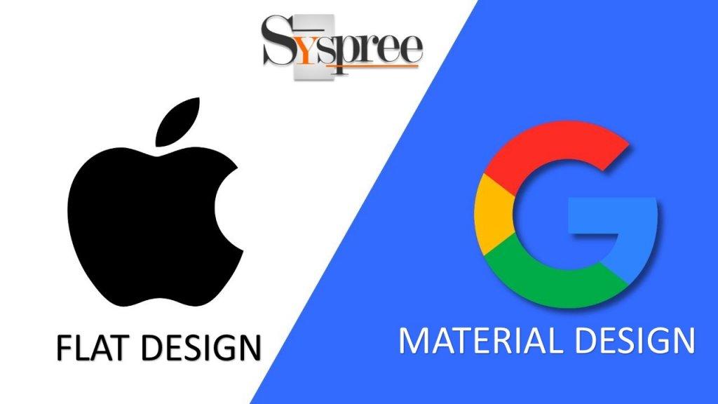 Material Design & Flat Design An Analysis blog by web designing services in Mumbai