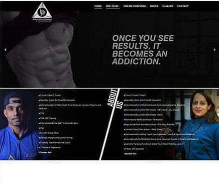 Digital Marketing Agency in Mumbai Thane SYSpree client Body Pro Coach