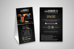Harbour 04 Menu Thane - designed and digital marketed by SySpree - web design company in Mumbai, digital marketing company in Mumbai
