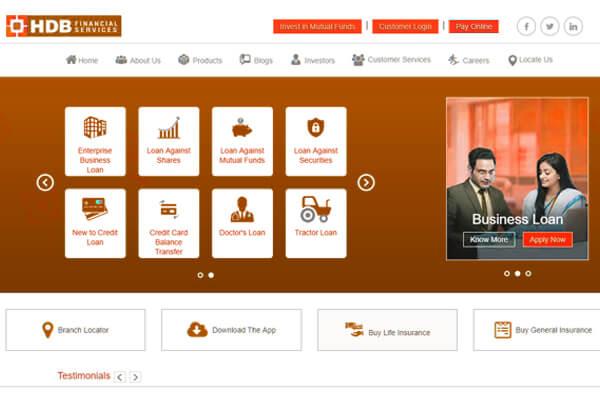 SEO company in Mumbai SYSpree client HDBFS