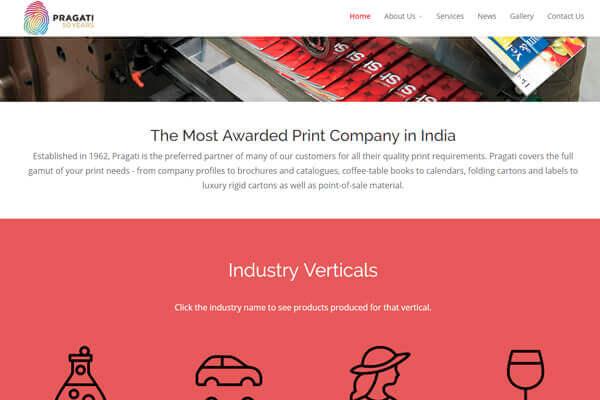 Web design company in Mumbai Thane Navi Mumbai, Digital marketing agency in Mumbai, Outsourcing companies in India, Website developers in Mumbai, Web development company in mumbai Client Pragati SySpree Digital