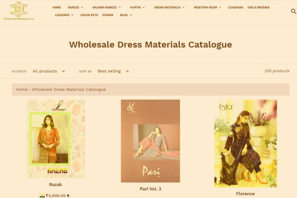 web designing company in Mumbai Textile and handicraft