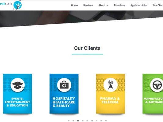 web designing company in Mumbai SYSpree Client Coppergate
