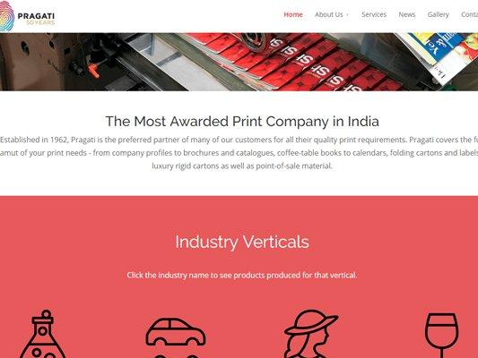 web development company in Mumbai SySpree client Pragati