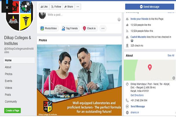SMM Social Media Marketing Company in Mumbai SySpree Client Dilkap