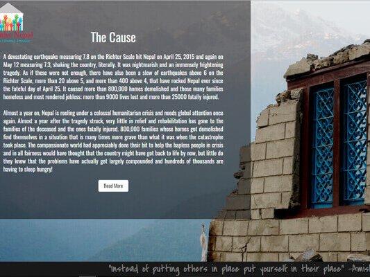 web designing company in Mumbai SYSpree empathy-nepal