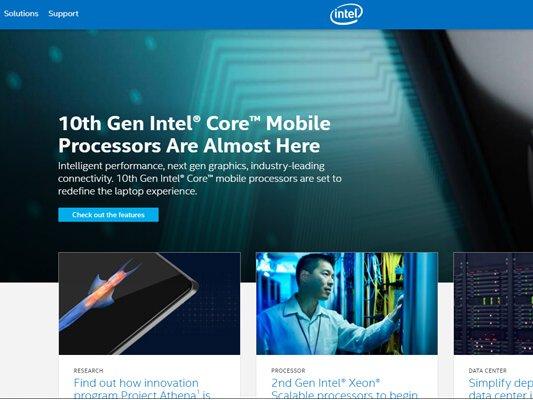 Web Designing company in Mumbai SySpree Client Intel