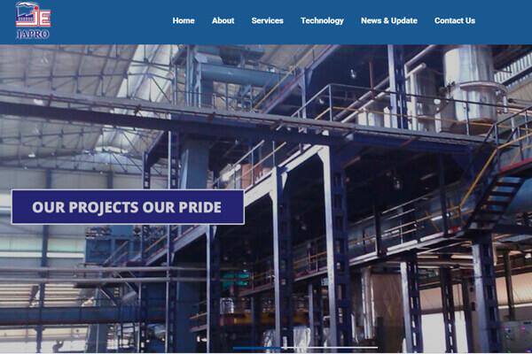 Web Designing company in Mumbai SySpree Client Japro
