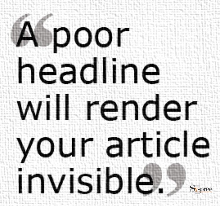 Importance of Headline by SEO company in Mumbai