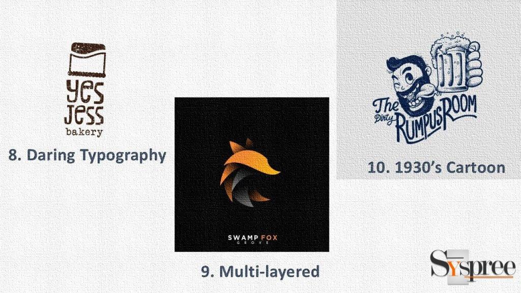 Logo Trends 3 by Logo Design Company in Mumbai